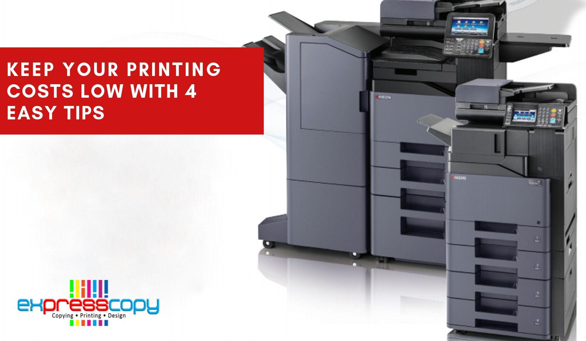 printing costs