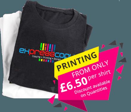 T-shirt Printing Croydon