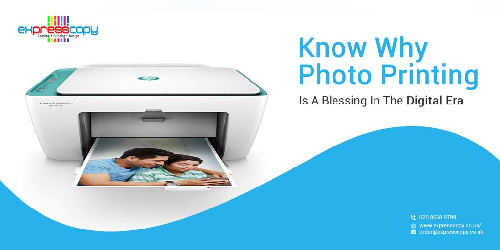 Know Why Photo Printing Is A Blessing In The Digital Era