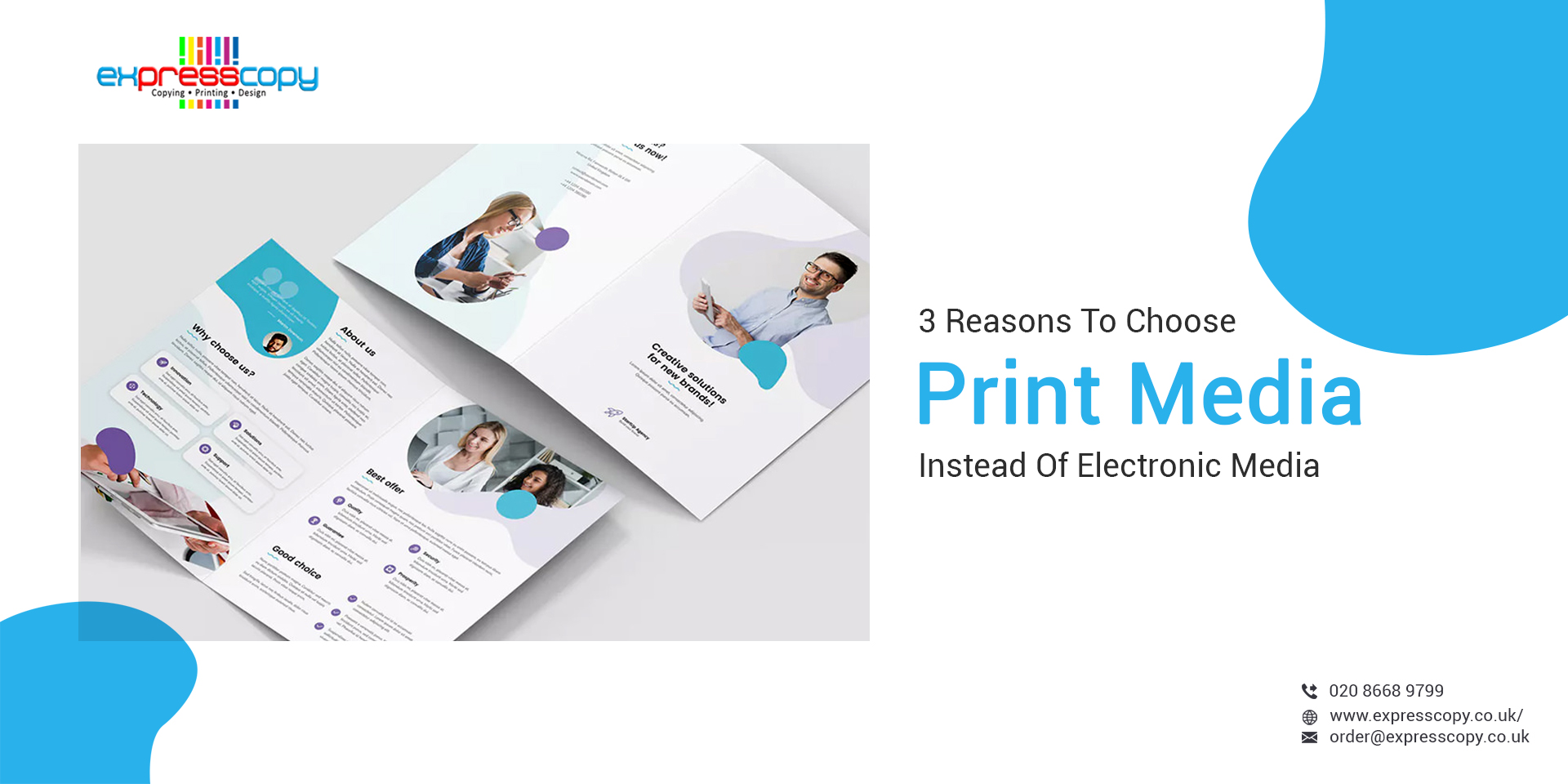 3 Reasons To Choose Print Media Instead Of Electronic Media