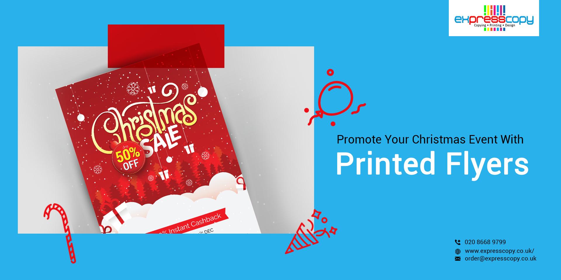 Flyer Printing Croydon